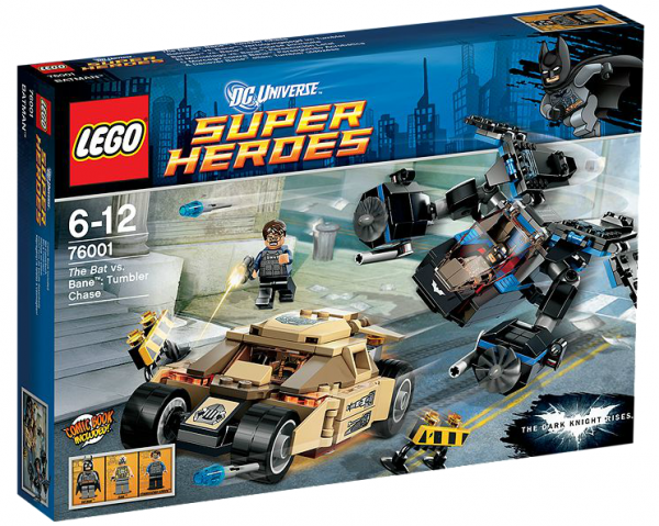 LEGO® DC Universe 76001 Batman vs. Bane: Verfolgungsjagd im Tumbler