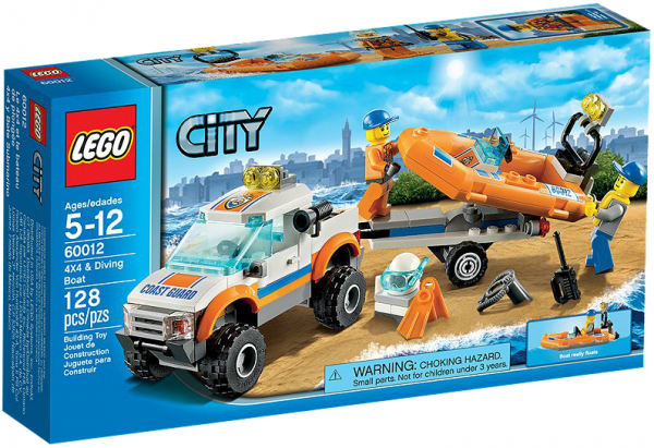 LEGO® CITY 60012 Küstenwachenfahrzeug mit Schlauchboot