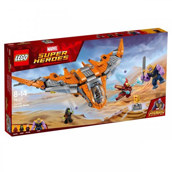 LEGO® Marvel Super Heroes 76107 Thanos: Das ultimative Gefecht