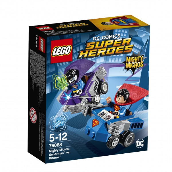 LEGO® DC Universe Super Heroes 76068 Mighty Micros: Superman vs. Bizarro