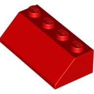 LEGO® 303721 Dachziegel 2x4/45° rot