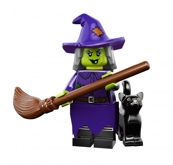 LEGO® Monster Minifigures Serie 14 - schrullige Hexe 71010-04