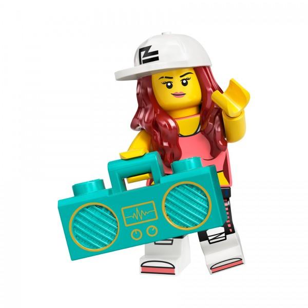 LEGO® Minifigur Serie 20 71027-02: Breakdance-Queen