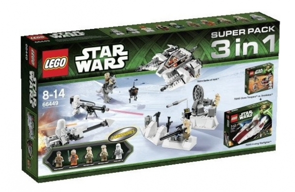 LEGO® Starwars 66449 Super Pack 3 in 1 (75000 + 75003 + 75014)™