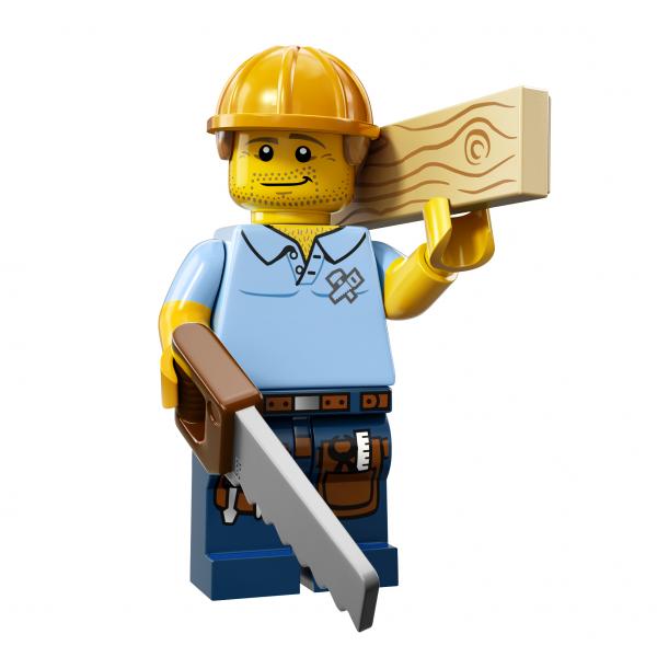 LEGO® Minifiguren Serie 13 - Carpenter 71008-09