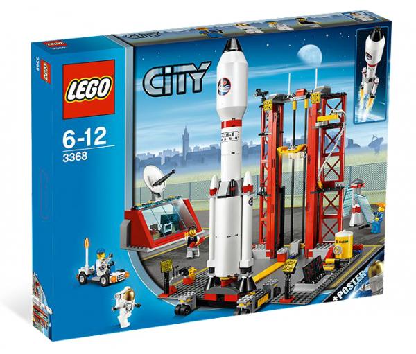 LEGO® CITY 3368 Raketenstation (leicht beschädigte Verpackung)