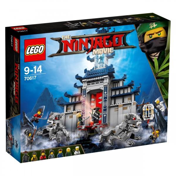 LEGO® Ninjago Movie 70617 Ultimativ ultimatives Tempel-Versteck
