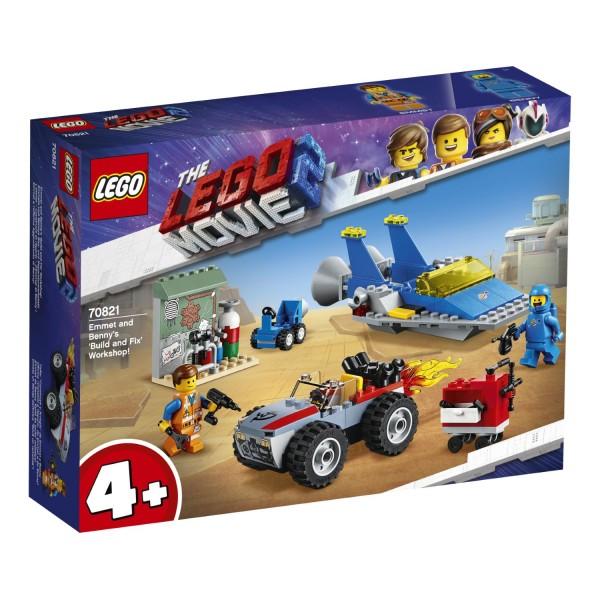 LEGO® Movie 2 - 70821 Emmets und Bennys Bau- und Reparaturwerkstatt!