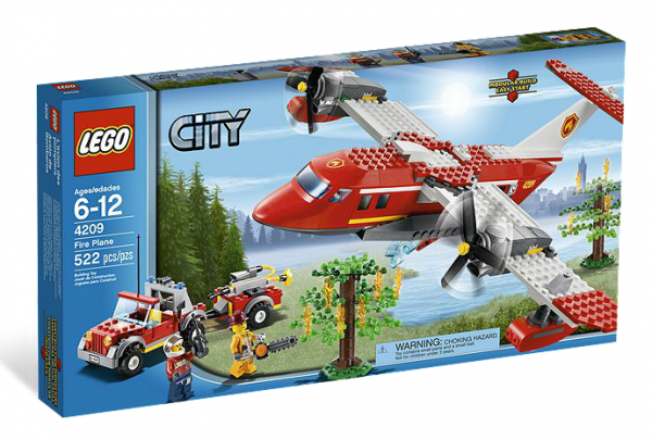 LEGO® CITY 4209 Feuerwehr-Löschflugzeug