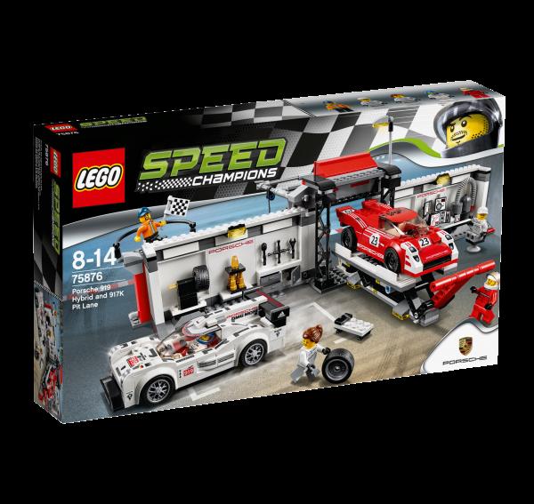 LEGO® Speed Champions 75876 Porsche 919 Hybrid & 917K Pit Lane