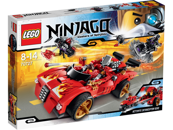 LEGO® Ninjago 70727 X-1 Ninja Supercar