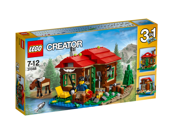 LEGO® Creator 31048 Hütte am See