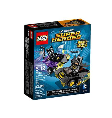 LEGO® DC Universe Super Heroes 76061 Mighty Micros: Batman vs. Catwoman
