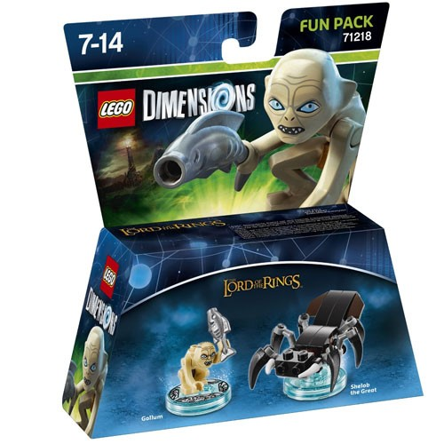 LEGO® Dimensions 71218 Fun Pack LOTR: Gollum