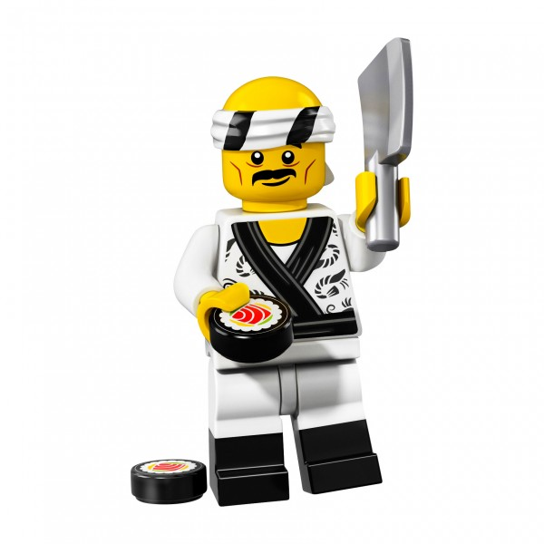 LEGO® 71019 NINJAGO Movie Minifigur - Sushi Koch 71019-19