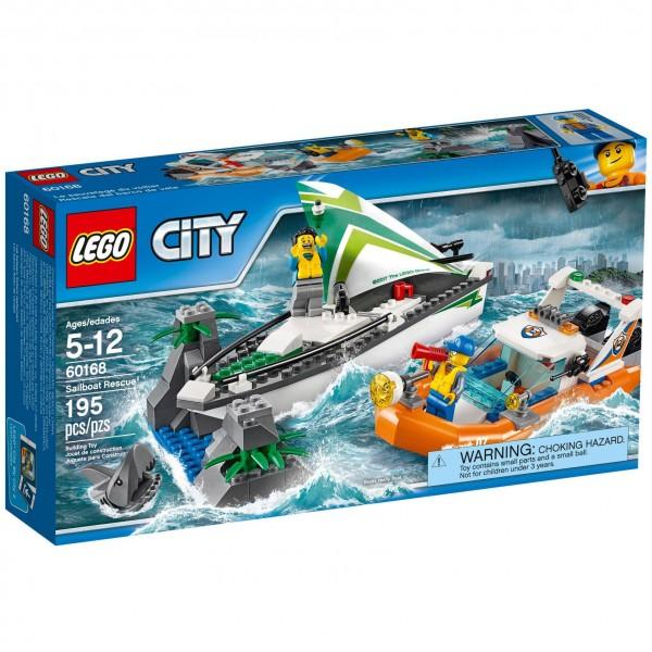 LEGO® CITY 60168 Segelboot in Not