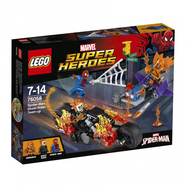 LEGO® Marvel Super Heroes 76058 Spider-Man: Ghost Riders Verbündete