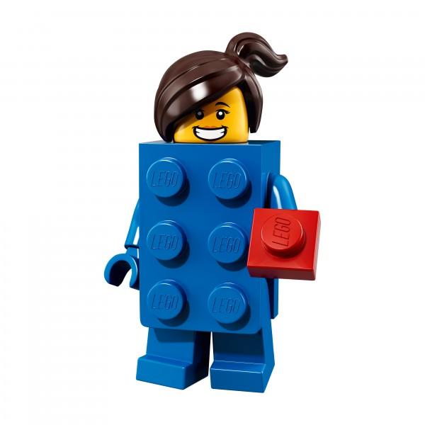 LEGO® 71021 Minifiguren Serie 18: Mädchen im LEGO® Stein Kostüm 71021-03