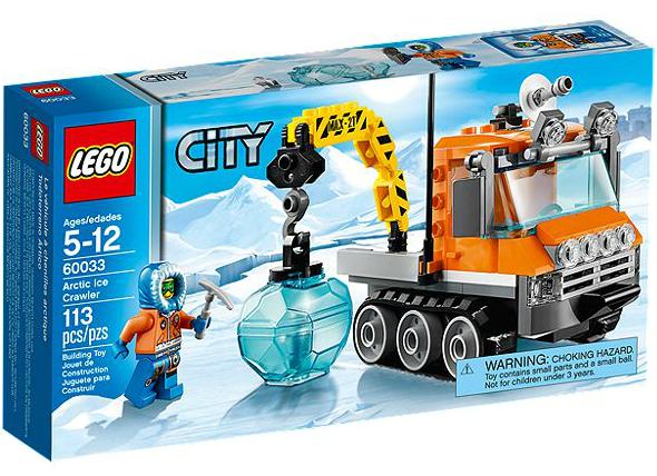 LEGO® CITY 60033 Arktis-Schneefahrzeug