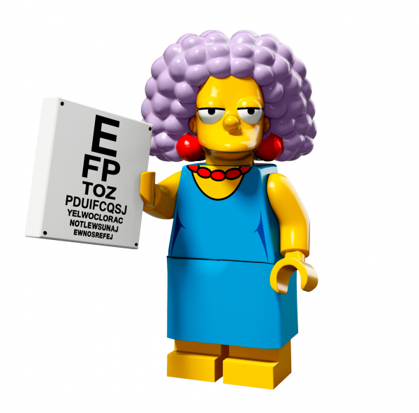 LEGO® The Simpsons Serie 2 - Selma Bouvier 71009-11