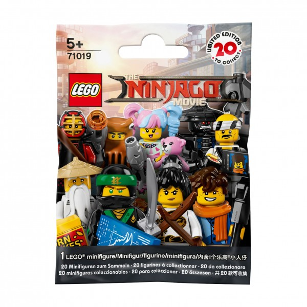 LEGO® 71019 NINJAGO Movie Minifiguren - zufällige Figur
