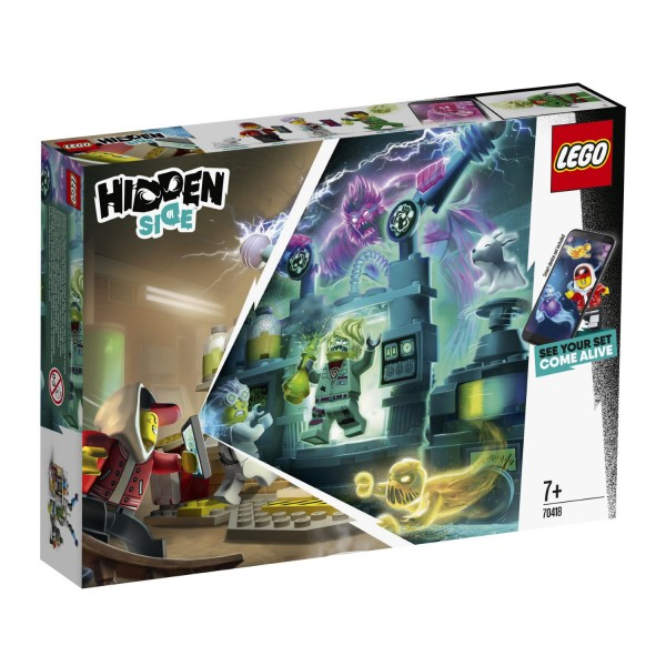 LEGO® Hidden Side™ 70418 J.B.'s Geisterlabor