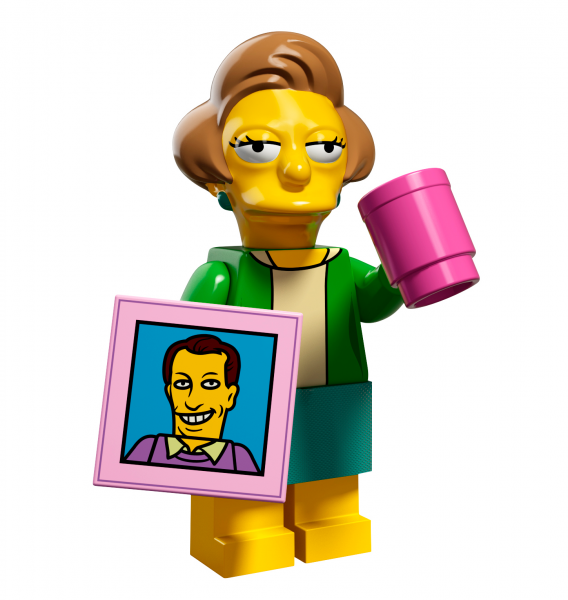 LEGO® The Simpsons Serie 2 - Edna Krabappel 71009-14