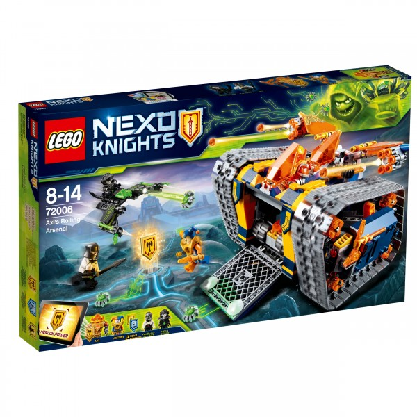 LEGO® Nexo Knights 72006 Axls Donnerraupe