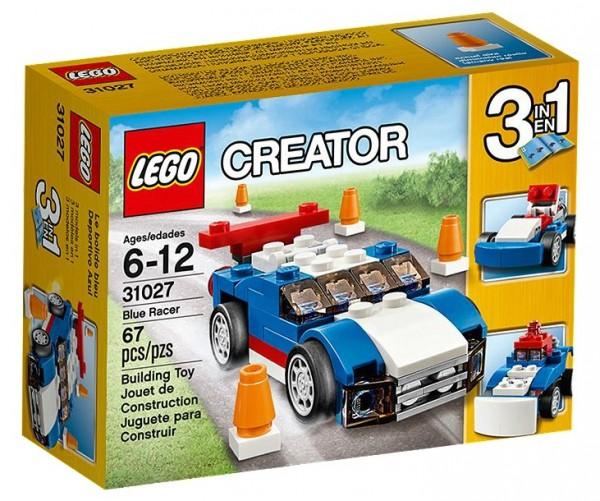 LEGO® Creator 31027 Blauer Rennwagen