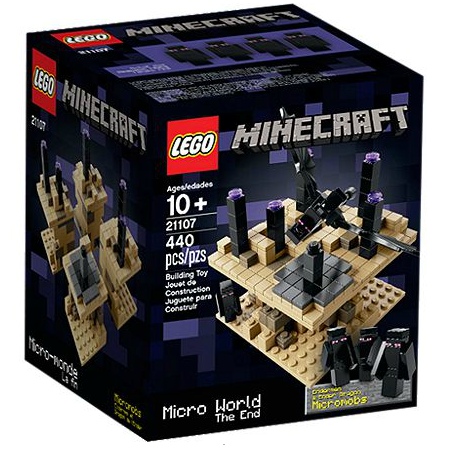 LEGO® 21107 Minecraft Microworld - Das Ende