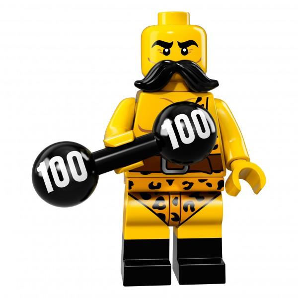 LEGO® 71018 Minifigur Serie 17 - Zirkus-Kraftprotz 71018-02
