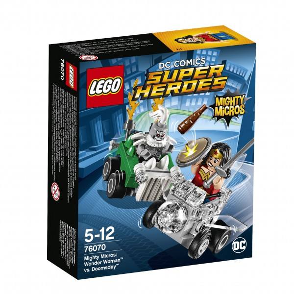 LEGO® DC Universe Super Heroes 76070 Mighty Micros: Wonder Woman vs. Doomsday