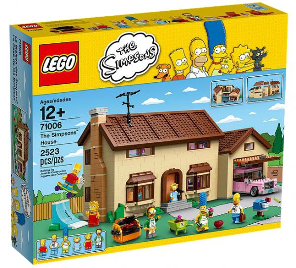 LEGO® 71006 Das Simpsons Haus