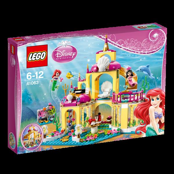 LEGO® Disney Princess 41063 Arielles Unterwasserschloss