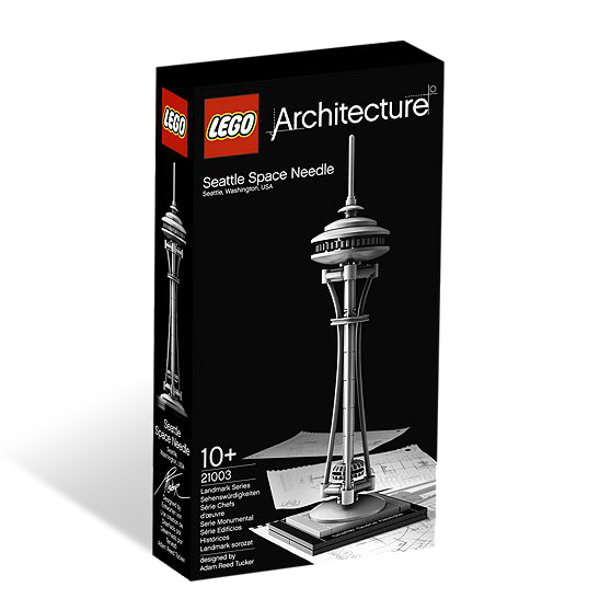 LEGO® Architecture 21003 Seattle Space Needle