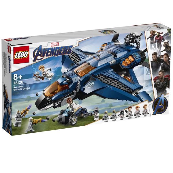 LEGO® Marvel Super Heroes 76126 Ultimativer Avengers-Quinjet