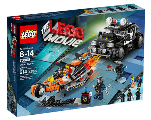 LEGO® Movie 70808 Superbike Verfolgungsrennen