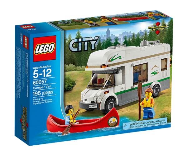 LEGO® CITY 60057 Wohnmobil mit Kanu