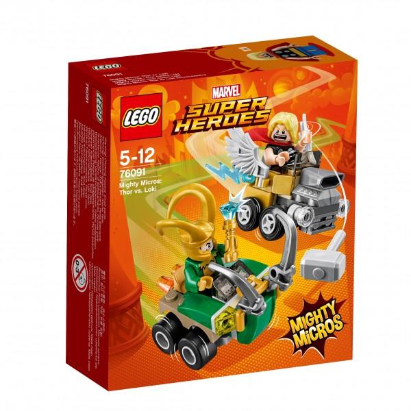 LEGO® Marvel Super Heroes 76091 Mighty Micros: Thor vs. Loki