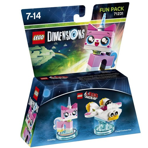 LEGO® Dimensions 71231 Fun Pack The LEGO Movie: Unikitty