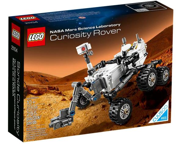 LEGO® 21104 NASA Mars Science Laboratory Curiosity Rover