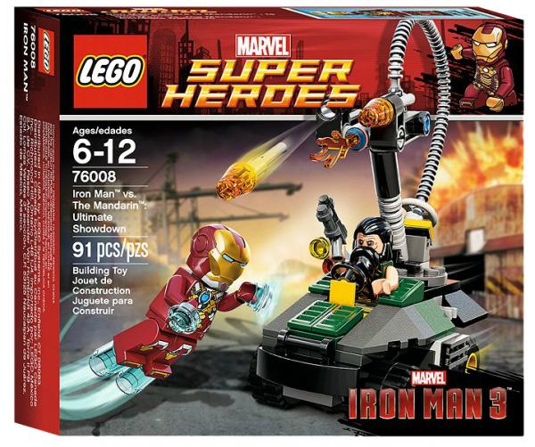 LEGO® 76008 Iron Man vs. The Mandarin: Letzte Entscheidung