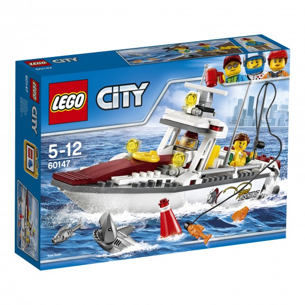 LEGO® CITY 60147 Angelyacht