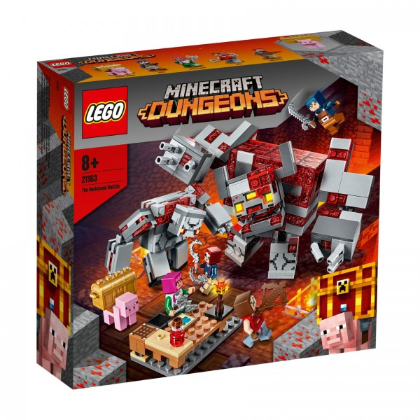 LEGO® Minecraft 21163 Das Redstone-Kräftemessen