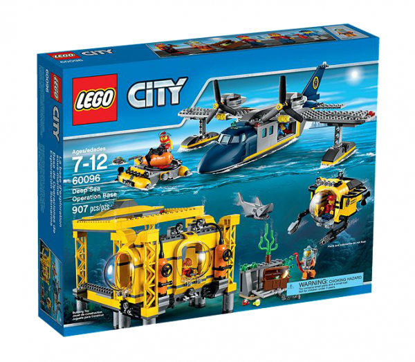 LEGO® CITY 60096 Tiefsee-Station
