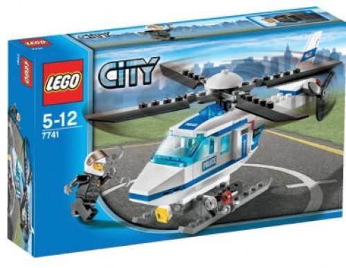 LEGO® CITY 7741 Polizei-Hubschrauber