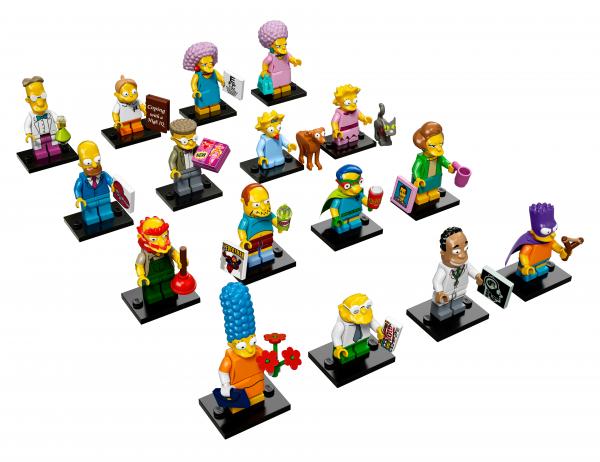 LEGO® Minifiguren The Simpsons Serie 2 - alle 16 Figuren