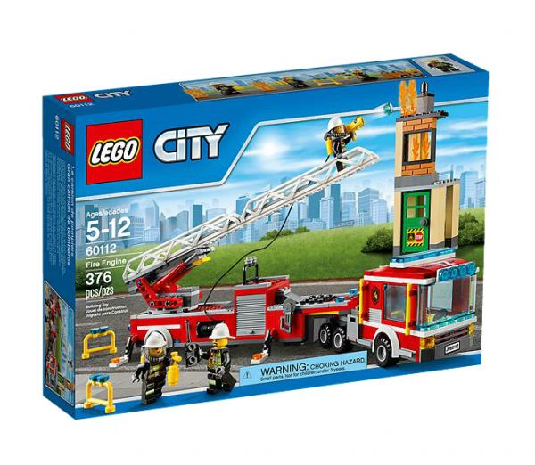 LEGO® CITY 60112 Feuerwehrauto mit Kran