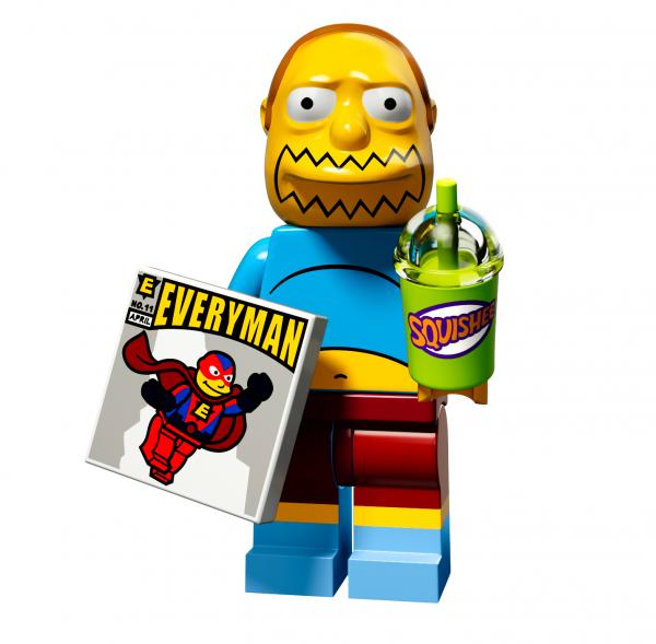 LEGO® The Simpsons Serie 2 - Comicbuch Verkäufer 71009-07