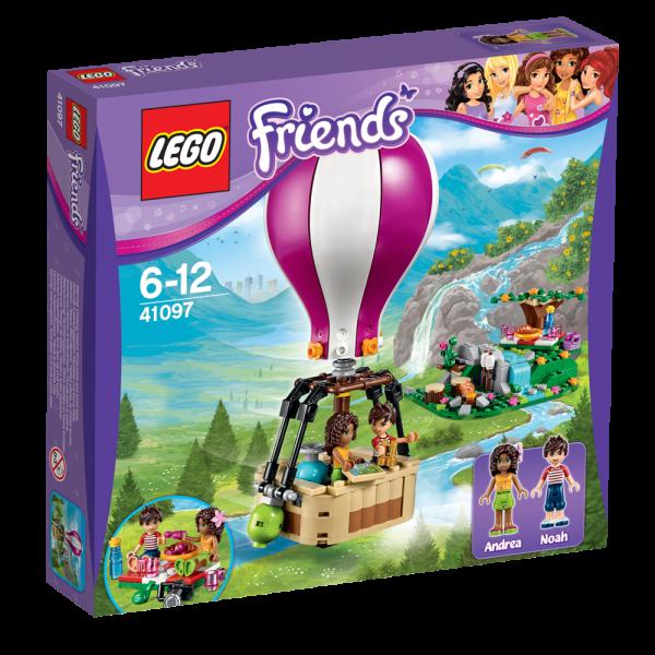 LEGO® Friends 41097 Heatlake Heißluftballon